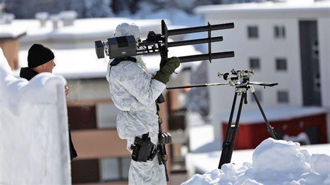 davos zirvesi dron savar kullanımı